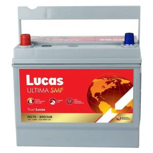 Lucas Ultima SMF NS70 Battery - Loyal Parts